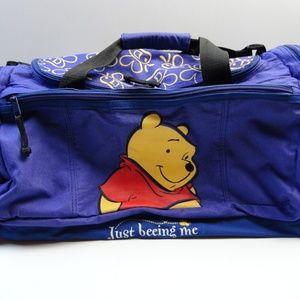 "Winnie the Pool 20"" Duffel Bag - Purple Disney"